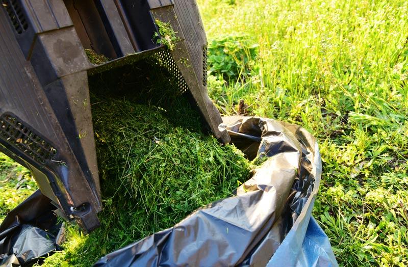 grass-bagging